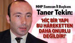 "Başkan Taner Tekin: ""Kimse Kendini Mustafa Kemal Zannetmesin"""