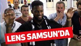 Beşiktaş'ın Yeni Transferi Jeremain Lens Samsun'da