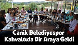 Canik Belediyespor Kahvaltıda Bir Araya Geldi