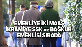 Emekliye Yılda 2 Maaş İkramiye Sırada, SSK ve Bağkur  Emeklileri...