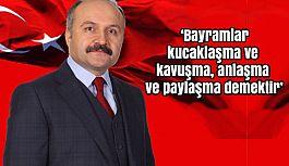 Erhan Usta'dan Bayram Mesajı