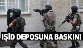 IŞİD'ın Silah Deposuna Baskın