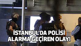 İstanbul Beylikdüzü'nde Polisi Alarma Geçiren Olay