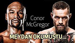 Kafes Dövüşünde, Floyd Mayweather Conor McGregor'u nakavtla yendi