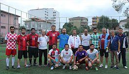 Kavak'ta 1. Geleneksel futbol turnuvası Başladı