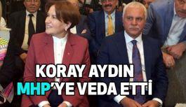 Koray Aydın'dan MHP'ye Veda: Hakkınızı Helal Edin