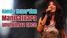 Manisa'da Hande Yener Rüzgarı