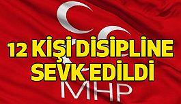 Manisa'da MHP'de 12 Partili Disipline Verildi