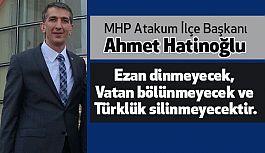 MHP Atakum İlçe Başkanı Hatinoğlu'ndan Kutlama Mesajı
