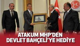 MHP Atakum'dan Bahçeli'ye tablo