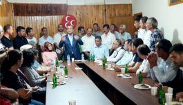 MHP İl Başkanı Tevfik Topçu, Mudanyalılarla Buluştu