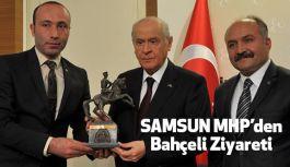 MHP Samsun Teşkilatlarından Devlet Bahçeli'ye Ziyaret