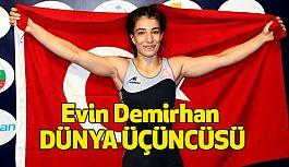 Milli Güreşçi Evin Demirhan Dünya Üçüncüsü Oldu