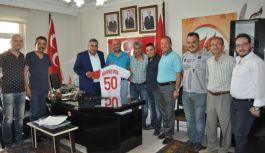 Nevşehirspor Yönetimi MHP Teşkilatını Ziyaret Etti
