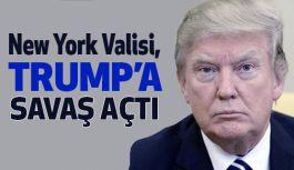 New York Valisi Cuomo, Trump'a savaş açtı