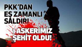 PKK'dan Eş Zamanlı Kahpe Saldırı!