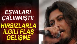 Şarkıcı Akarsu'nun evini soyan hırsız yakalandı