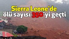Sierra Leone'de Ölü Sayısı 350'nin Üzerinde