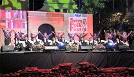 Eskişehir Tepebaşı halk dansında Türkiye'yi temsil etti