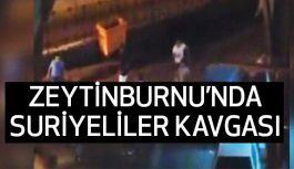 Zeytinburnu'nda Suriyeliler Kavgası