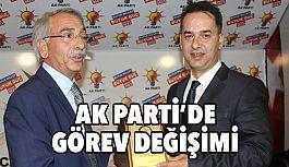 AK Parti Erzincan İl Başkanlığı'nda görev değişimi
