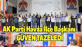 AK Parti Havza İlçe Başkanı Güven Tazeledi