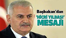 Başbakan Yıldırım'dan 'Hicri yılbaşı' mesajı