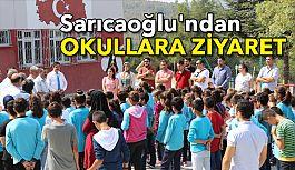 Başkan Sarıcaoğlu'ndan Okullara Ziyaret