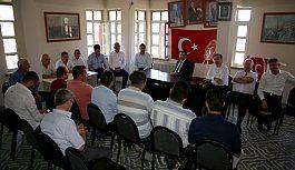 Başkan Tosun'dan, MHP Teşkilatına Bayram Ziyareti