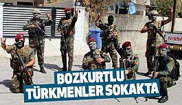 Bozkurtlu Türkmenler Sahaya İndi