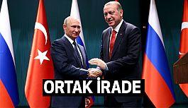 Cumhurbaşkanı Erdoğan  ile Putin Görüşmesi