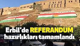 Erbil'de Referandum İçin Hazırlıklar Tamam