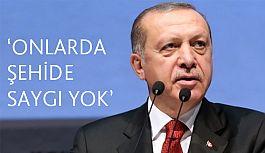 Erdoğan'dan şehitlikteki görüntülere ilişkin açıklama