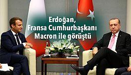 Erdoğan, Fransa Cumhurbaşkanı Macron...