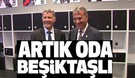İngiltere  Büyükelçisi Moore, Beşiktaş'a Üye Oldu