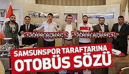 İshak Taşçı'dan, Samsunsporlu Taraftarlara Otobüs Sözü...