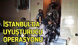 İstanbul'da Uyuşturucu Operasyonu!
