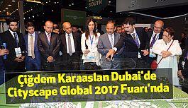 Karaaslan Dubai'de Cityscape Global 2017 Fuarı'nda