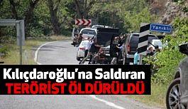 Kılıçdaroğlu'nun Konvoyuna Terörist Öldürüldü