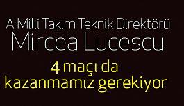 Lucescu: 10 puan bizi üst tura taşımaz, 4 maçı da kazanmamız gerekiyor