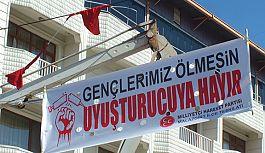 """Malazgirt MHP'den, """"Uyuşturucuya Hayır' kampanyasına destek"""""""