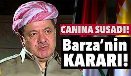 Masut Barzani Canına Susadı!