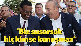 Mevlüt Çavuşoğlu Kofi Annan'la görüştü