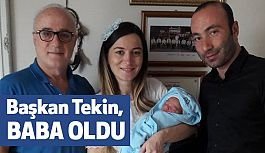 MHP İl Başkanı Taner Tekin Baba Oldu