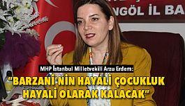 MHP Milletvekili Arzu Erdem: Hainlerin 80 Milyonu Çiğnemeleri Gerekiyor
