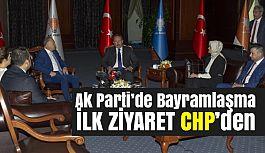 Partiler Arası Bayramlaşma; İlk Ziyaret CHP'den