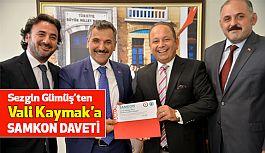 SAMKON'dan Vali Kaymak'a, Samsun Tanıtım ve Turizm Günleri'ne davet