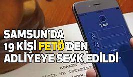 Samsun'da, Bylock operasyonunda gözaltına Alınanlar Adliyede