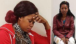 Samsun'da Ugandalı 2 eskort kadın Suç Üstü Yakalandı