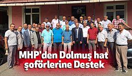 Samsun MHP'den Dolmuş Hat Şoförlerine Destek
